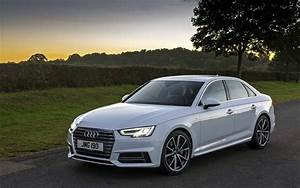 Download wallpapers Audi A4, 2017, White A4, sedan, German ...