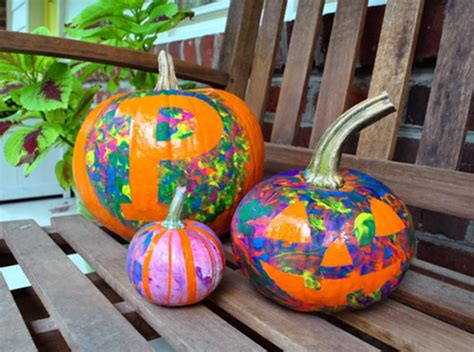 paint a pumpkin ideas 40 cute and easy pumpkin painting ideas hobby lesson