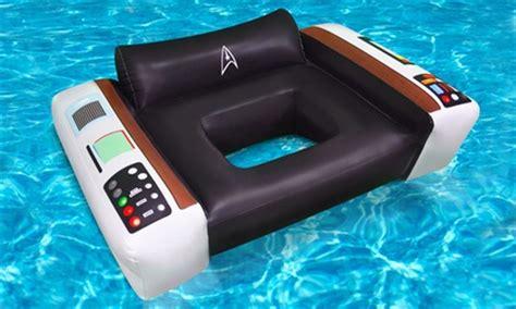 trek captains chair float trek captain s pool chair groupon goods