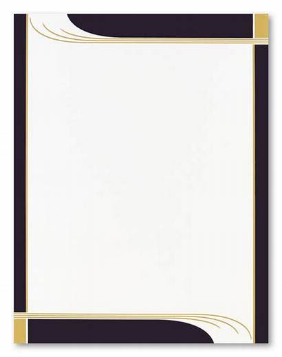 Borders Religious Letterhead Clipart Printable Stationery Graduation