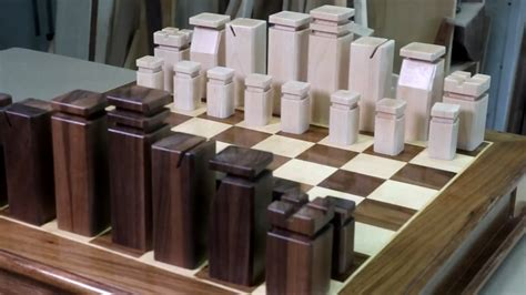 chess pieces woodworking  mere mortals