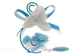 ruban voiture mariage boule drages turquoise orchide vente contenant dragees mariage original drageslad