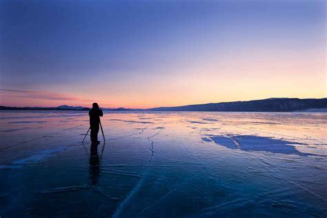 贝加尔湖唯美风景图片桌面壁纸 -桌面天下(Desktx.com)