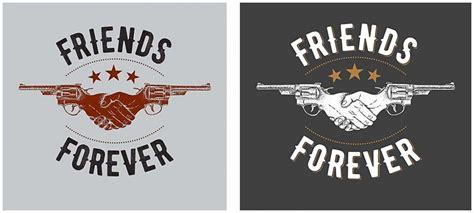 free t shirt design friends forever t shirt design free