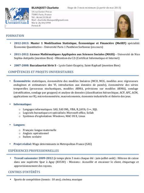 Cv En Ligne Gratuit Télécharger by Resume Format Modele De Cv Gratuit Menage