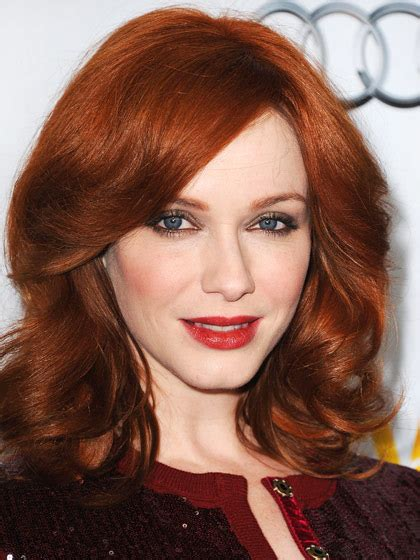 redheads hair colour ideas  styting tips