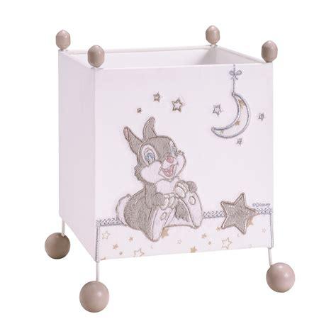 chambre bebe panpan panpan le de chevet carrée blanc de disney baby les