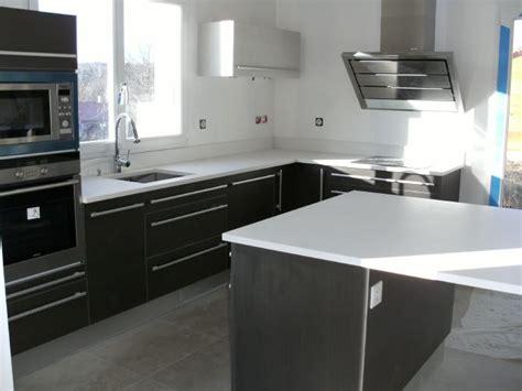 exemple plan de cuisine quelques exemples de plan de travail de cuisine en quartz