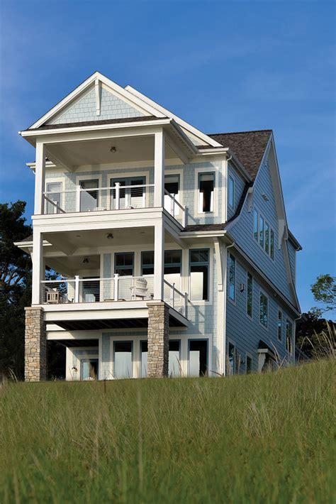 Storybook Shingle Beach House With Coastal Interiors