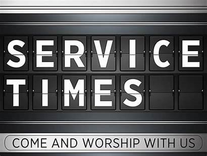 Service Church Times Worship Sunday Saint John