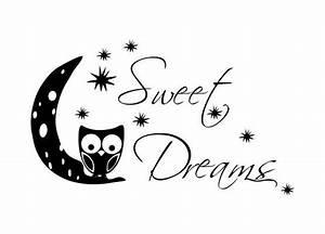 Wandtattoo Sweet Dreams : wandtattoo kinderzimmer eule sweet dreams ~ Whattoseeinmadrid.com Haus und Dekorationen