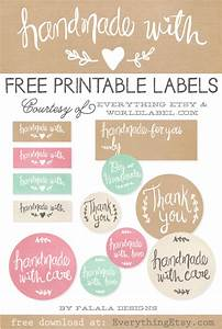 Best of Free Printable Tags/ Labels For Handmade Gifts