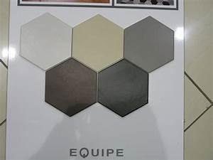 Carrelage Hexagonal Blanc : carrelage 17 5x20 hexatile equipe ceramicas equipe ~ Premium-room.com Idées de Décoration