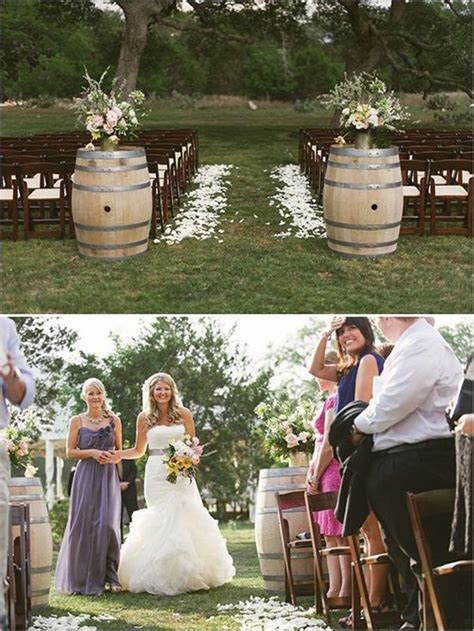 country wedding ideas 20 ways to use wine barrels