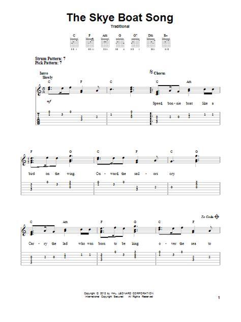 Skye Boat Song Viola Sheet Music by The Skye Boat Song Sheet Music Direct