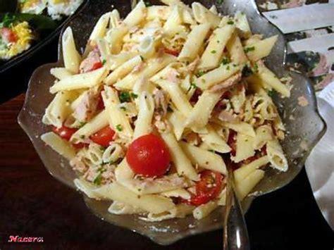cuisine tunisienne pate au thon recette de salade de pàtes par nacera61