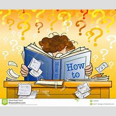 Learning From A How To Book Stock Photos  Image 12838533