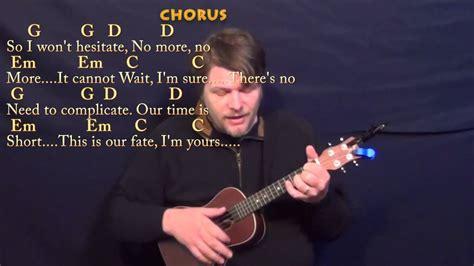 I'm Yours (jason Mraz) Ukulele Cover Lesson In G With