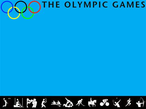 olympic games powerpoint template adobe education