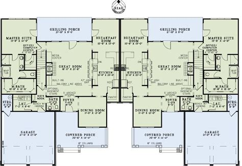 multi family house plans zion star