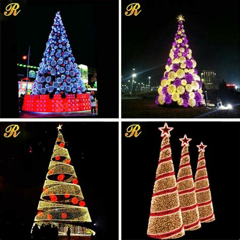 led street light artificial christmas tree parts buy