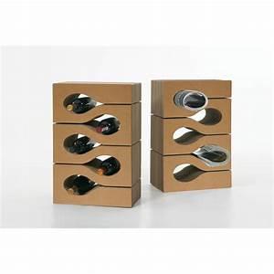 Porte Revue Carton : porte bouteilles revues en carton ondul brillo mooviin ~ Teatrodelosmanantiales.com Idées de Décoration