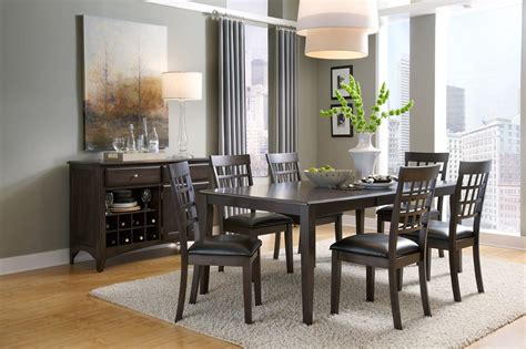 bristol point  warm grey extendable rectangular dining