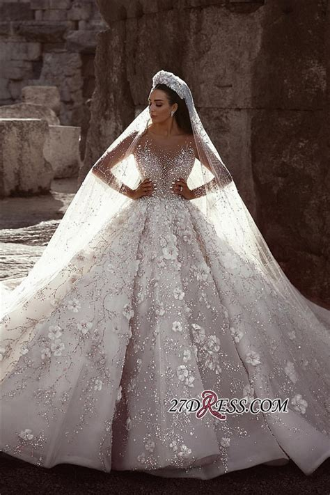 Permalink to Long Sleeve Wedding Ball Gowns