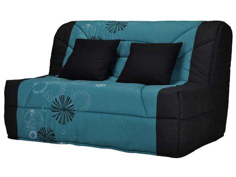 housse de canapé bz conforama housse pour bz prima 140 cm prima maori coloris bleu