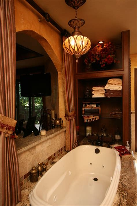 tuscan master bath traditional bathroom  metro