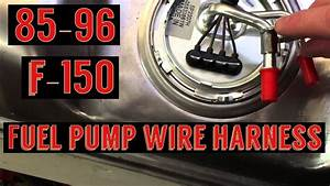 F150 Fuel Pump Wiring Harness Install    Spectra Fuel Pump
