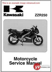 Kawasaki Zzr 250 Service Manual