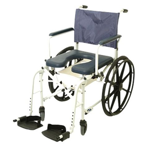 invacare mariner rehab shower commode chair with 24