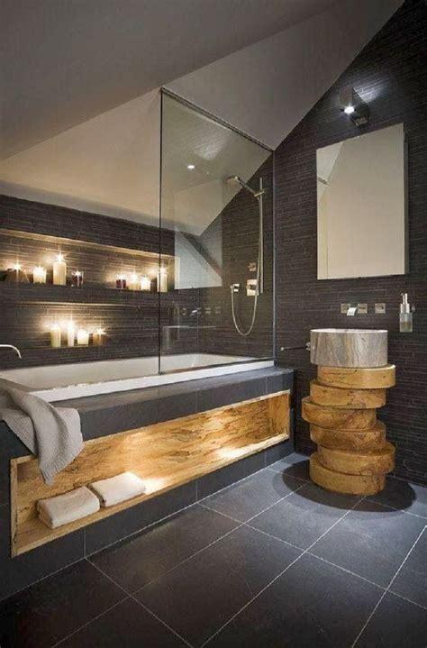 inspiration salle de bain salle de bain moderne ardoise et bois massif salles de bains en