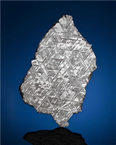 a complete slice of muonionalusta meteorite discovered in