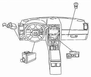 Chrysler 300 Electronic Parking Brake Control Switch