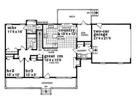 simple one house plans simple one farmhouse plans eplans house plan house