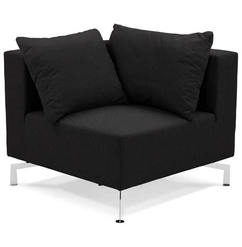 canapé voltaire 3 places coin de canapé voltaire corner noir canapé modulable