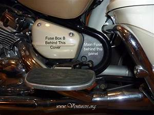 Yamaha V Star 1100 Fuse Box Location
