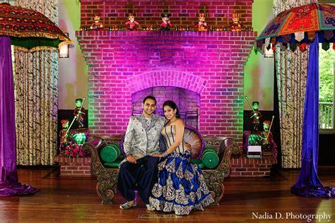 Sangeet In Spartanburg, Sc Indian Wedding By Nadia D