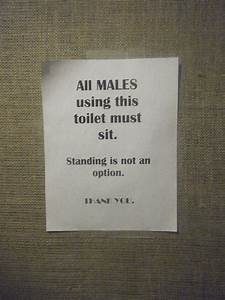 Humor with Toilet Signs. Part 2 (25 pics) - Izismile.com