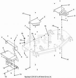 Gravely 992236  030000 - 039999  Pro-turn 460 Parts Diagram For Chute And Belt Covers