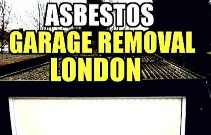 asbestos garage removal  london asbestos removals