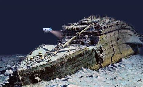 You Can Now See Theanic Shipwreck For Real Indiatoday