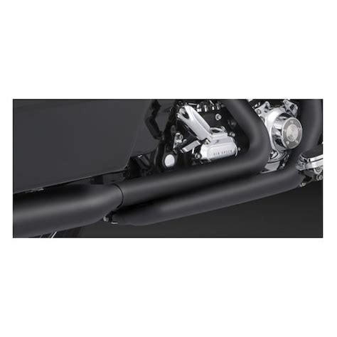 Vance And Hines Dresser Duals Black by Vance Hines Dresser Duals Headers For Harley Touring