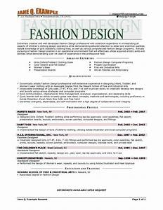 fashion resume templates learnhowtoloseweightnet With fashion resume templates