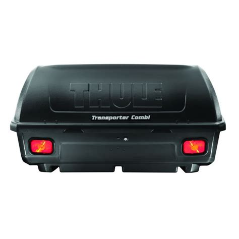 thule transporter combi  rear mounted hitch cargo box