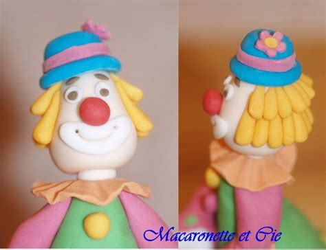 pate a modeler clown clown en p 226 te 224 sucre macaronette et cie