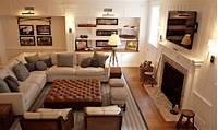 family room furniture Furniture layout ideas, basement family room ideas ...