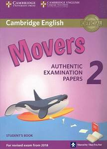 Mover Test 2018 : download cambridge movers 2 2018 book test key audio ~ Jslefanu.com Haus und Dekorationen